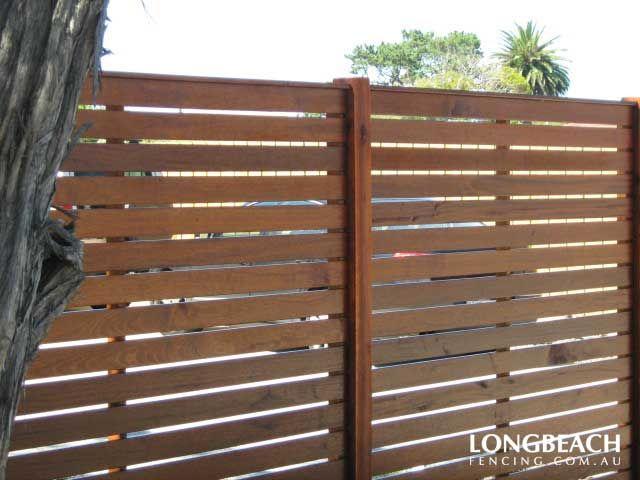 `Merbau Fences | Merbau Timber Feature | Melbourne | Longbeach Fencing