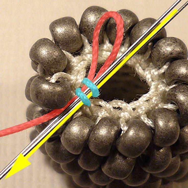 Ressources Comment faire une spirale en perles au crochet ?