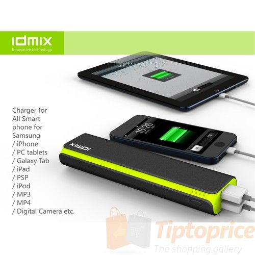 The Ultimate Shopping Gallery IDMIX DM-D104 10400mAh Firefly Power (bank) +Samsung battery