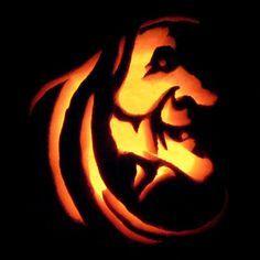 headless horseman stencil pumpkins carving - Google Search