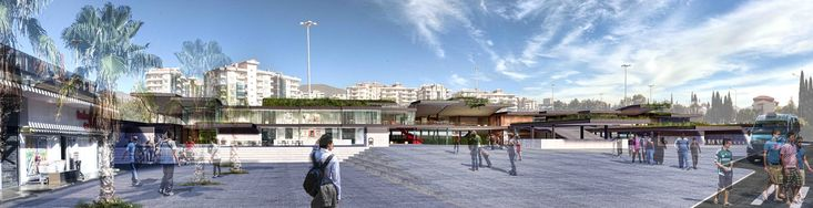 Social Center and Transfer Station