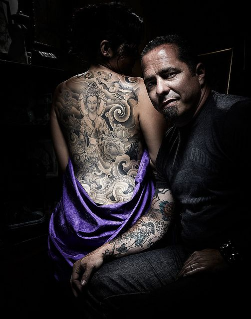 Corey Miller and Wife's Back Piece by Brian Cummings Photography, via Flickr