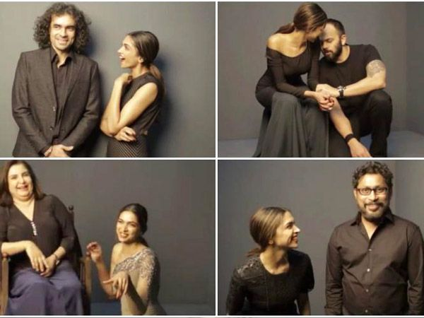 Deepika Padukone Decoded: Here's What All Her Directors Have To Say About Her- #Deepika #Padukone #DeepikaPadukone #FarahKhan #ImtiazAli #SoojitSarkar #RohitShetty #HomiAdajania #Directors #Bollywood #Films #Piku #OmShantiOm #Tamasha