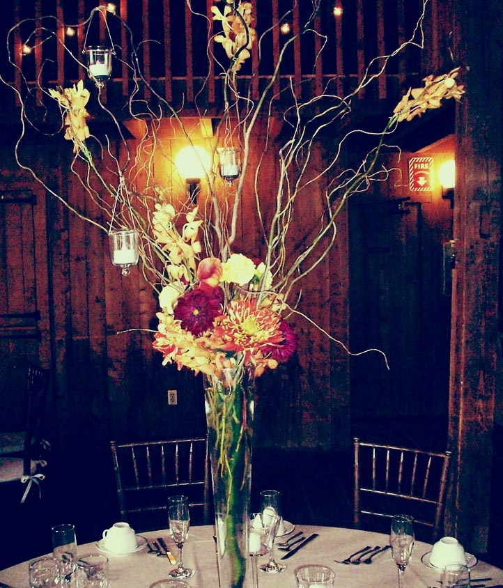 Tall #martini Glass #centerpiece