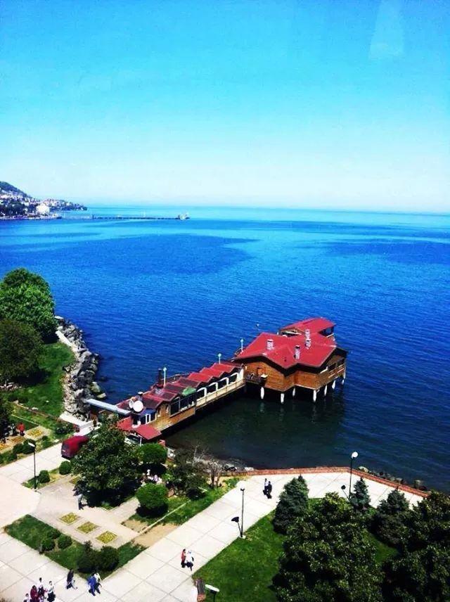 Grand Mıdı Restaurant, Ordu ⚓ Eastern Blacksea Region of Turkey #karadeniz #doğukaradeniz #ordu #travel #nature – ali kaya