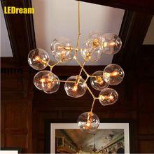 2016 европа современный ресторан стеклянные подвесные светильники контракт и современный личность светильник suspendu бар lampara(China (Mainland))