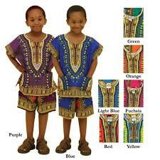 Traditional Children's African Clothing 3