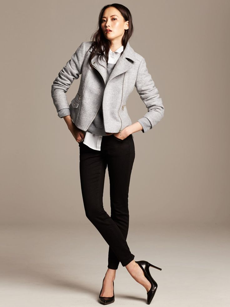 Banana Republic- Fall 2014...I want that double broiler jacket!