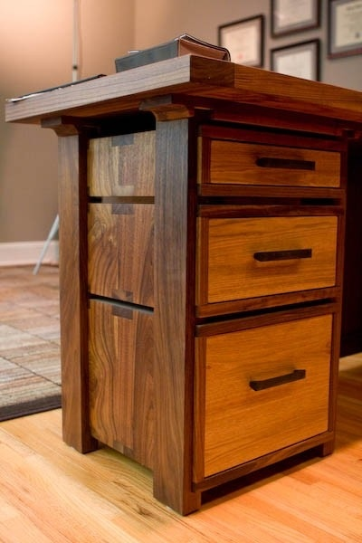 Home Office Suite of Walnut