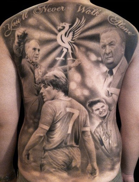Tattoo artist: Ael Lim. Liverpool FC tattoo. Wouldn't get the whole thing, but love the liverbird.