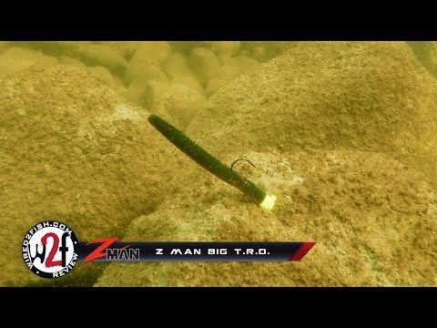 Z Man Big T.R.D Underwater Video - (More info on: https://1-W-W.COM/fishing/z-man-big-t-r-d-underwater-video/)