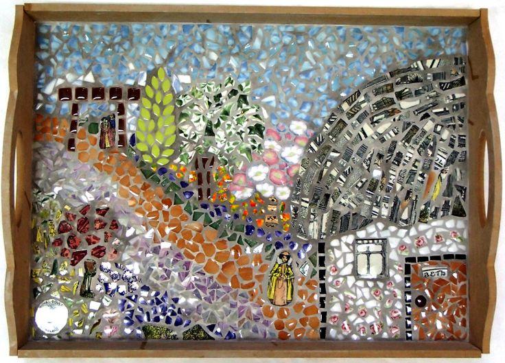 Beth's Mosaic Tray