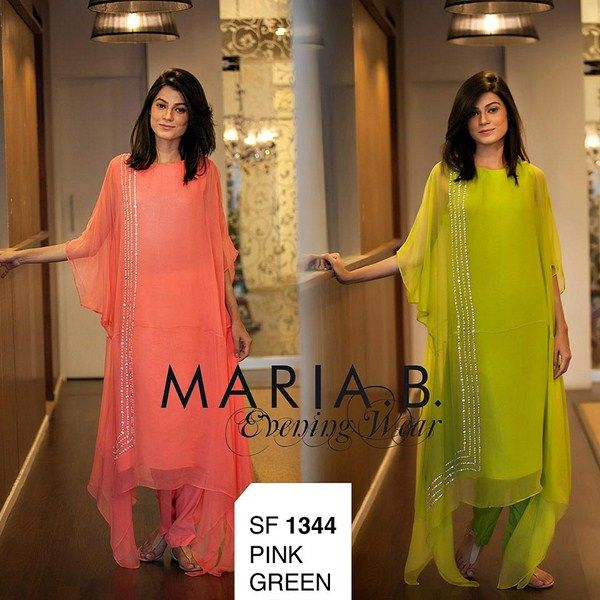Maria B Evening Wear Collection 2013 For Women
