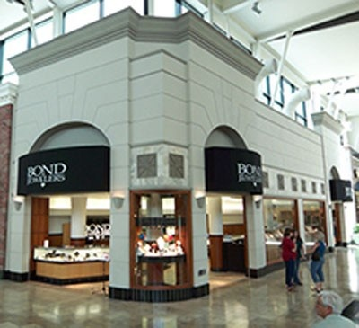 Each Bond Jewelers and Bond Diamonds location has a Pandora Store inside  (referred to as a Pandora Shop In Shop)with one of the best selections of  Pandora Jewelry you'll find in Florida.  We have Shop In Shop Pandora locations  in St. Petersburg across from Tyrone Square, in Tampa's Westfield Countryside,  in Brandon's Westfield Brandon, Clearwater's Westfield Countryside, and  Sarasota's Westfield Sarasota Square.