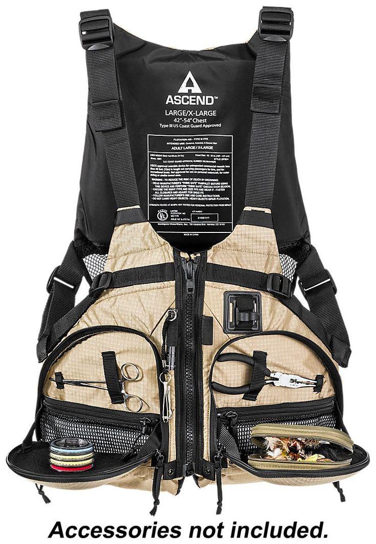 Ascend™ Paddling Fishing Life Jacket | Bass Pro Shops