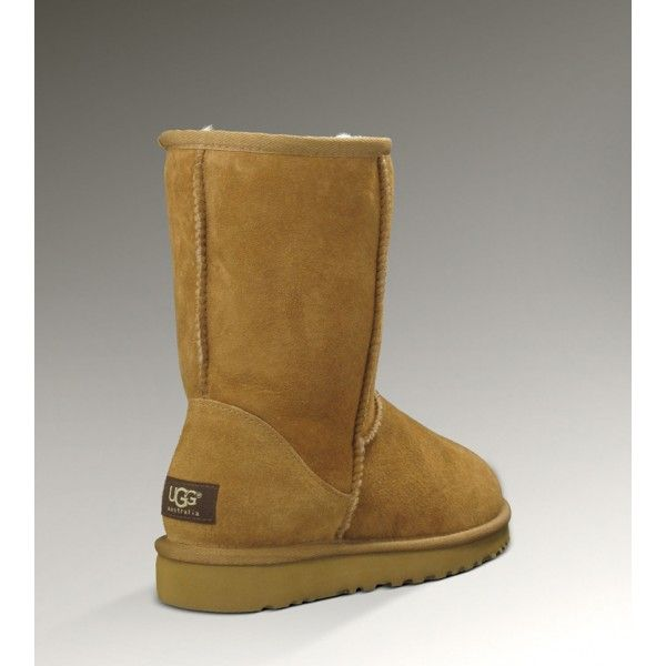 Our ugg site offer UGG Classic Short Boots 5825 in Chestnut with unique design and catch many young ladies notice. They can be folded over to show the beautiful inner wool. These sheepskin UGG Boots are very suitable in cold winter. Our uggs outlet boots are all with high quality and low price.If you are interested in ugg boots, why not take much time to find your favorable ones for you,or your friend,or your family. Hope you enjoy yourself in our outlet here.