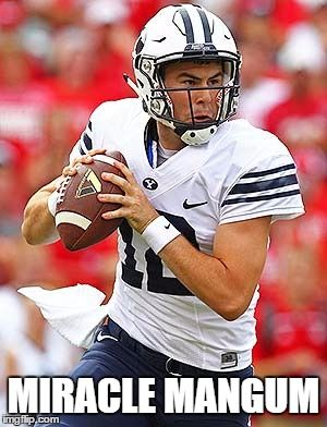 Miracle Mangum BYU Football 2015 Boise Nebraska