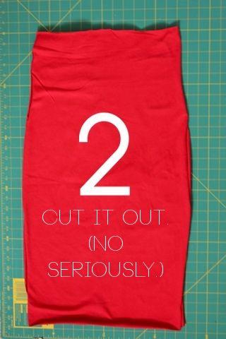 DIY: 10-minute pencil skirt | Mom's Best Network