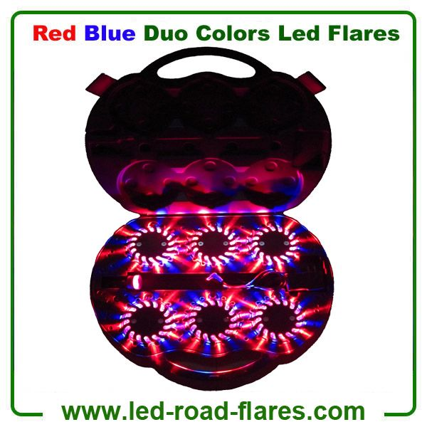 Red Blue Led Road Flares 6 Packs Rechargeable Red Yellow Led Road Flares  Red Blue Led Road Flares, Red Yellow Led Road Flares, Amber White Led Road Flares, Red White Led Road Flares, Red Green Led Road Flares