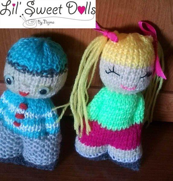 comfort doll knitted doll muñeca tejida najma22
