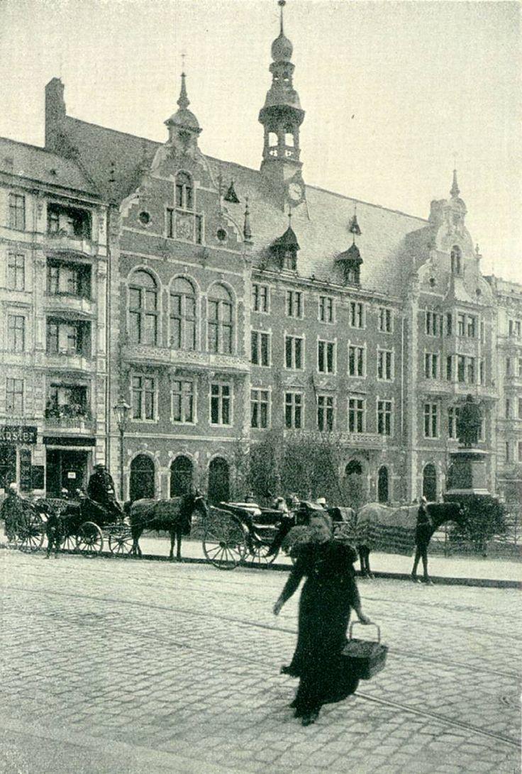 1895 Das ehemalige Rathaus Schoeneberg am Kaiser-Wilhelm-Platz