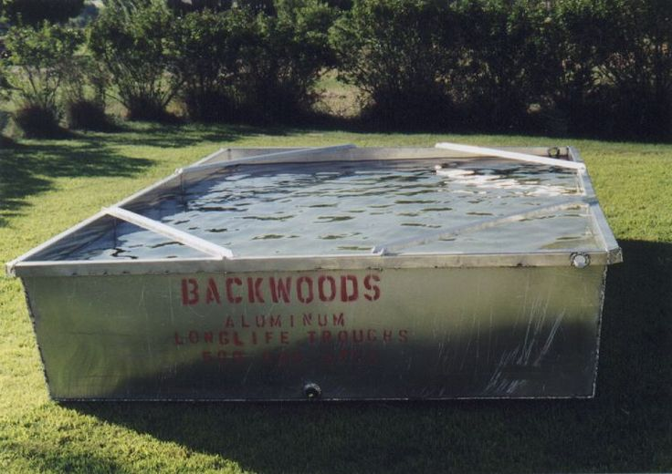 17 Best Ideas About Galvanized Water Tank On Pinterest