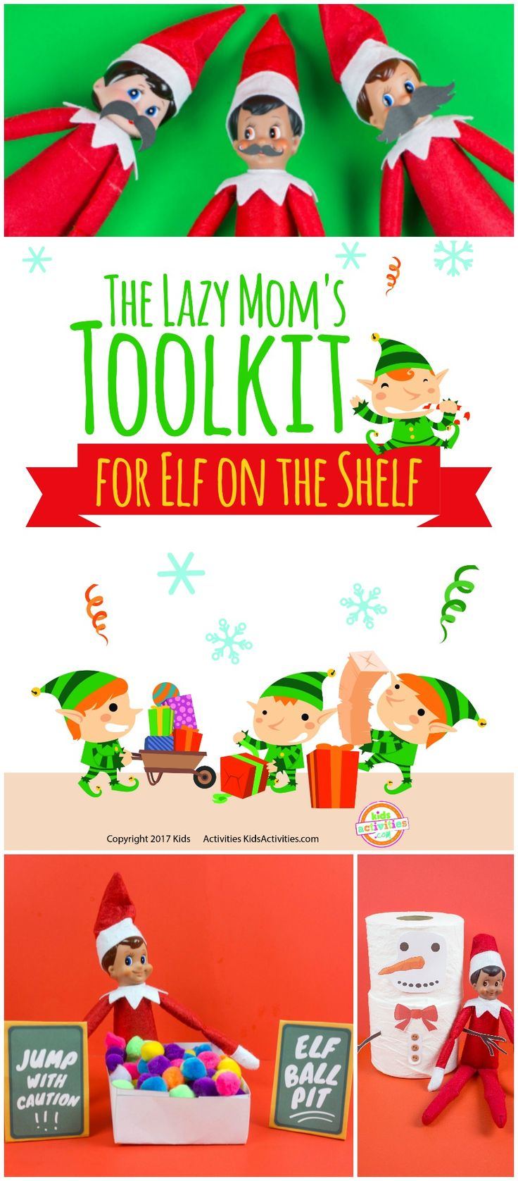 Lazy Mom S Toolkit For The Elf Elf On Shelf Ideas