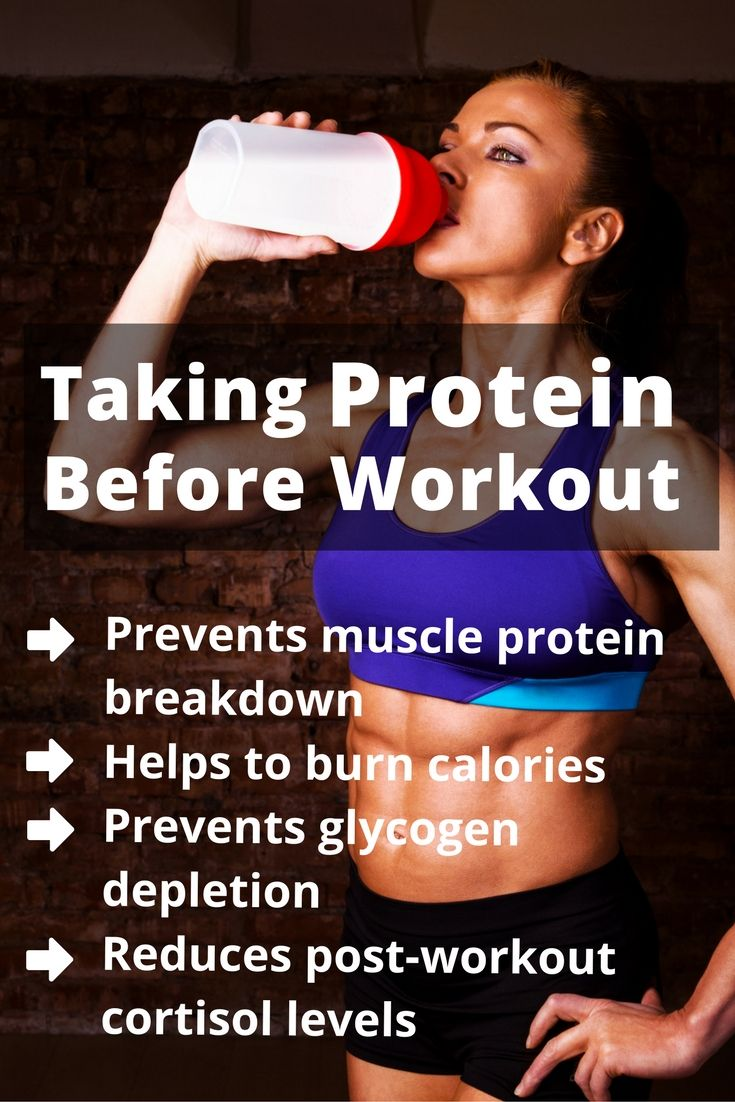 Ultimate Guide to Pre and Post Workout Nutrition | Protein taken before a workout also helps to fuel your muscles during training.