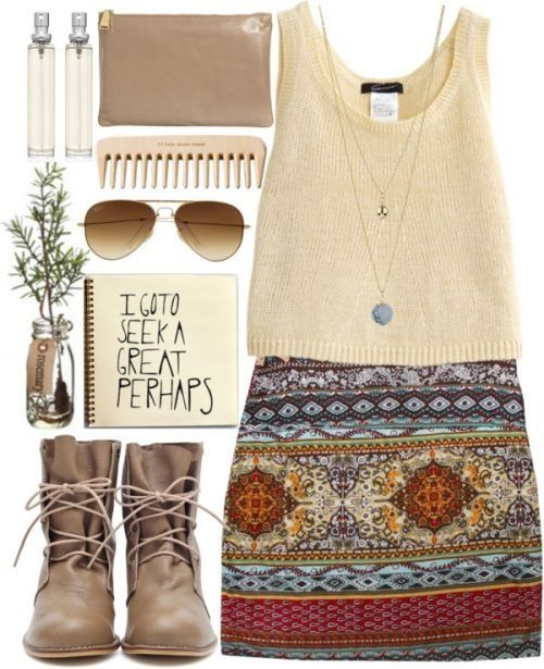 Trival skirt outfit