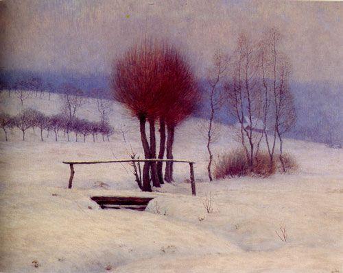 František Kaván, Můstek, 1902-03, olej, plátno, 81x102