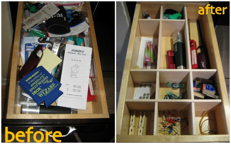 DIY - Make your own balsa wood drawer organizer custom fit to suit your needs!
