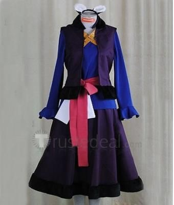 Spice and Wolf Holo Blue Purple Costume  - Anime Cosplay Costumes