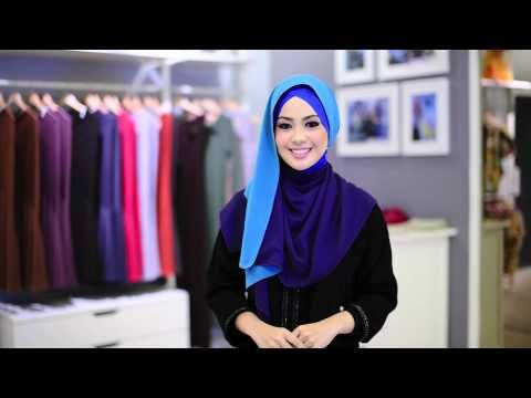 Shawl Tutorial by Al-Humaira' Contemporary #6