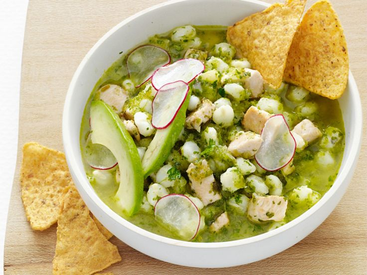 amazing! Only use 3 cups broth, as lime and cabbage for topping. Chile-Chicken Posole recipe from Food Network Kitchen via Food Network