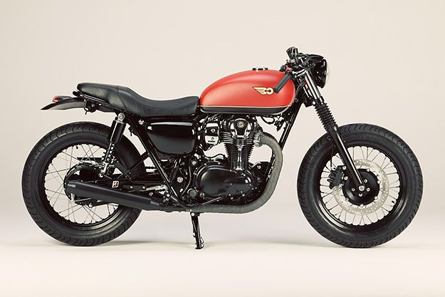 LSL of Germany take Kawasaki's W800 back to the 1930's with a distinct Brooklands vibe