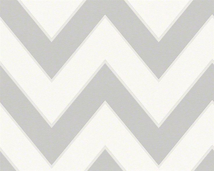 Vliesové tapety na stenu - BIELA, SIVÁ 93943-5