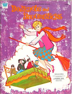 Miss Missy Paper Dolls: Bedknobs and Broomsticks-cover