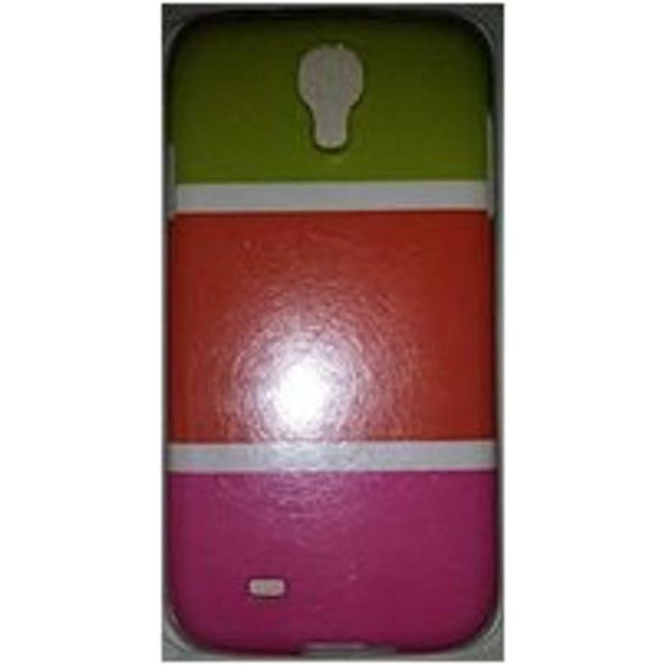 Couture 890968405821 Case for Samsung Galaxy S4 - Green, Orange and Pink
