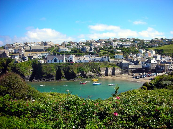 Port Isaac Cornwall...filming location for Doc Martin