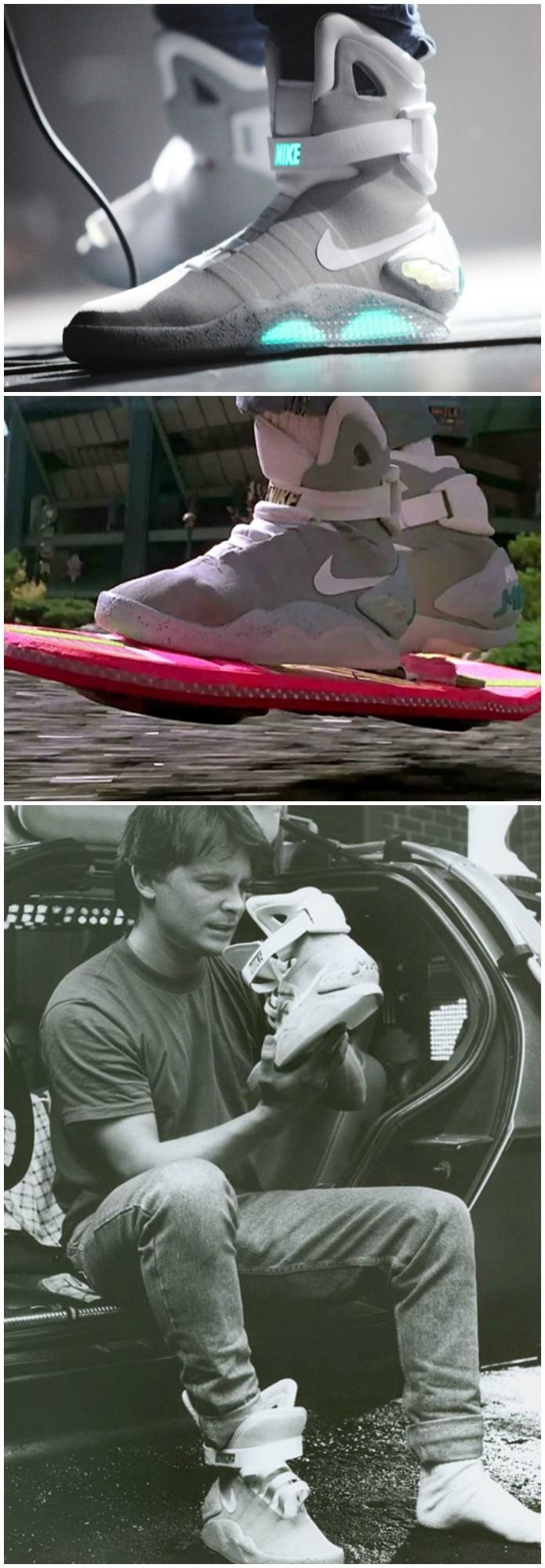 Great Scott! The Nike Air Mag Self Lacing Sneakers are real and you can actually buy yourself a pair. If you have $89,000 to spare that is.