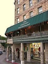 The Balcony Restaurant At Basin Park Hotel Eureka Springs Ar Going To