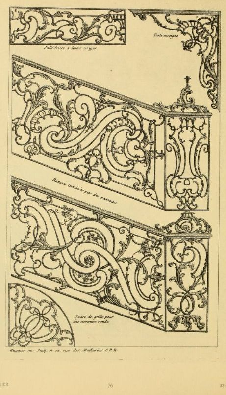 Ballister iron work