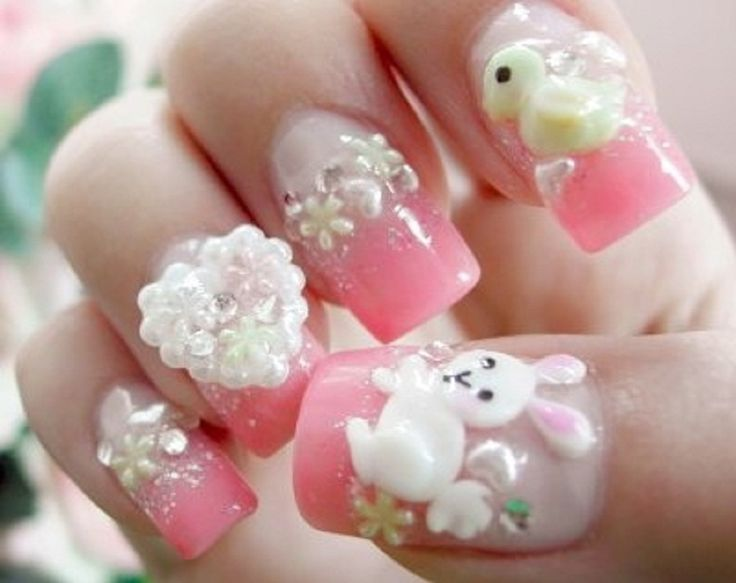 Cute Funny Wedding Nail Art Designs :Nail Art Designs | Nail Art ...