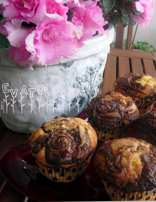 Nutella'lı Muffin