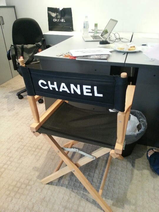 chanel director chair