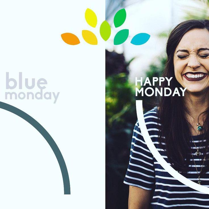 ¡Los blue monday también pueden ser happy monday!