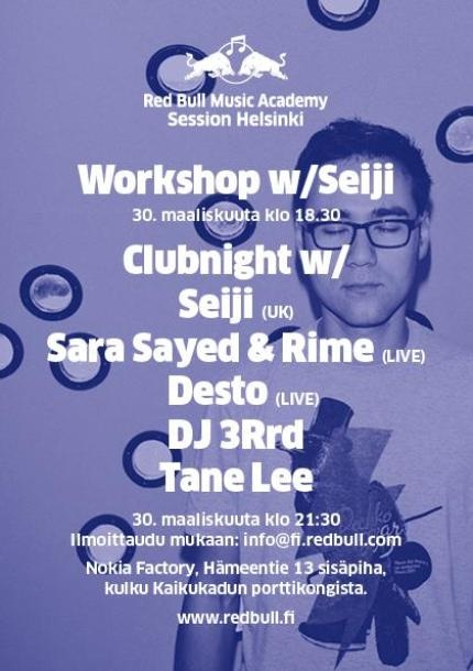 RBMA Clubnight 30.3.2012