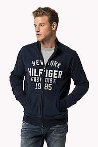 Cotton Zip-through Sweater. Scopri la collezione sweatshirts per men di Tommy Hilfiger.