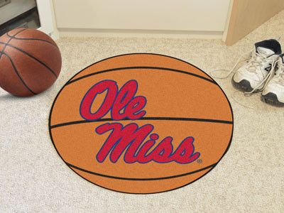 Basketball Mat - University of Mississippi Rebels