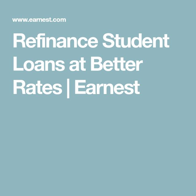 Refinance Student Loans at Better Rates | Earnest